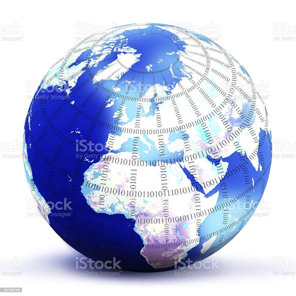 digital world globe royalty-free digital world globe stock vector art & more images of color image