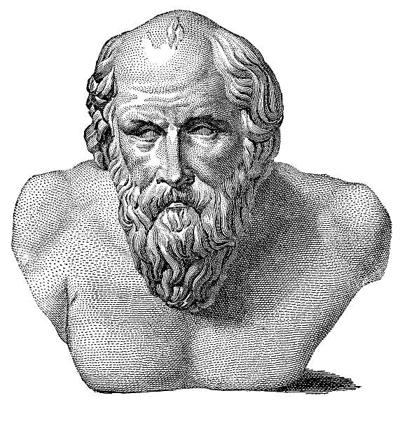 Diogenes Of Sinope Illustrations Royalty Free Vector