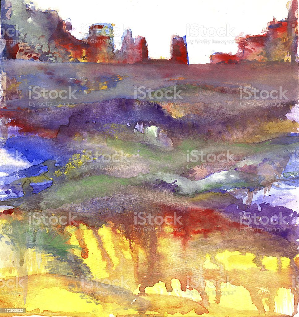 dirty city abstract royalty-free stock vector art