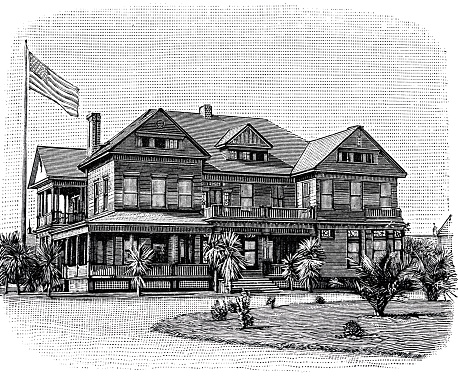 Disabled home at Los Angeles, Headquarters with reading room and library