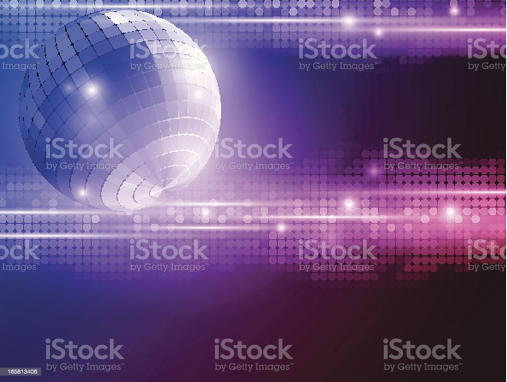 Disco background royalty-free stock vector art