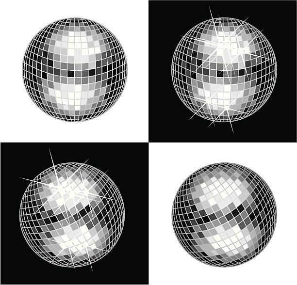 Disco Ball  disco ball stock illustrations