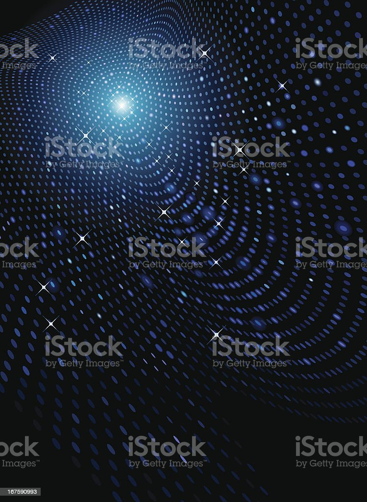 Disco Lighting Background royalty-free stock vector art