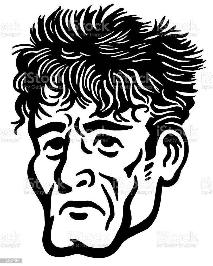 Disheveled Man royalty-free disheveled man stock vector art & more images of adult