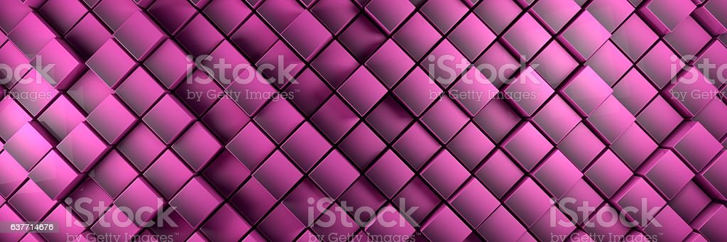 displaced purple cubes banner background royalty-free displaced purple cubes banner background stock vector art & more images of abstract
