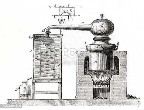 istock Distillery schematic 1005381526