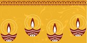 Beautiful Diwali Lamps.