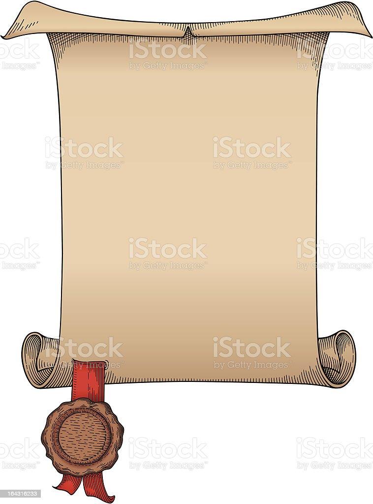 Document frame vector royalty-free stock vector art