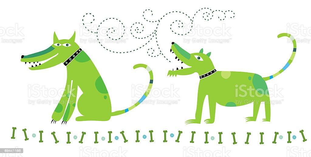 Cani di comunicazione cani di comunicazione - immagini vettoriali stock e altre immagini di abbaiare royalty-free