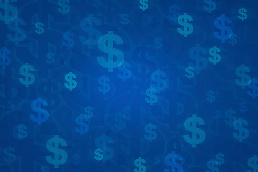 Dollar sign for background, Money concept