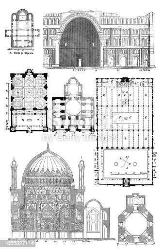 illustration of a Dome of Soltaniyeh