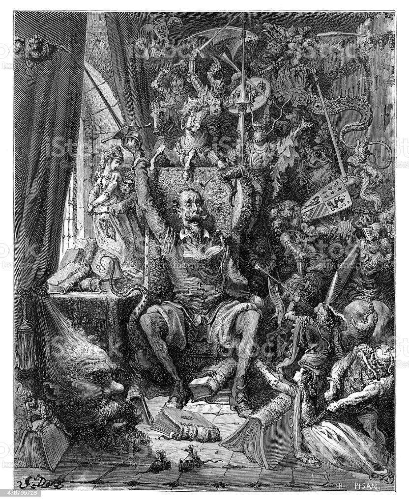 don quixote and his insanity What don quixote means (today) robert bayliss [h]e who has had the luck to be born a character can laugh even at death he cannot die the man, the writer, the instrument of the creation will die, but his.