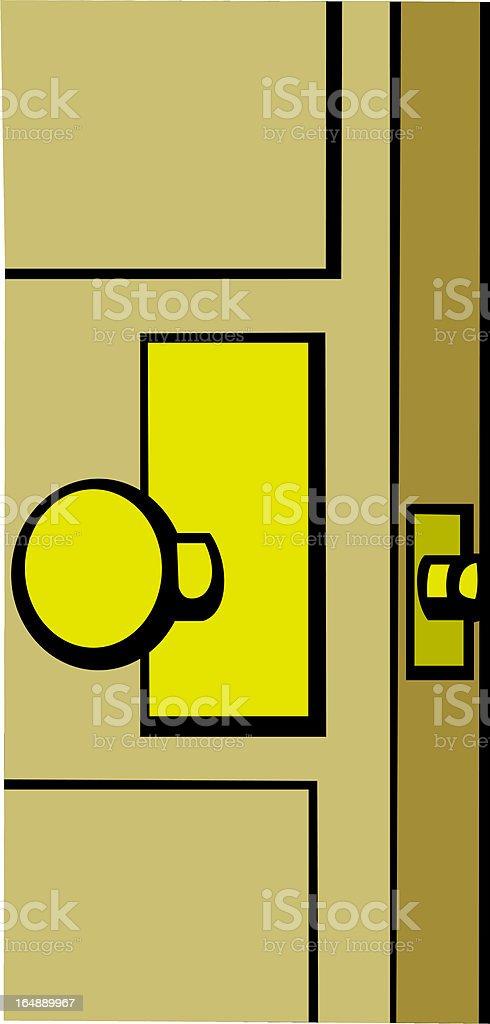 door knob royalty-free door knob stock vector art & more images of close to