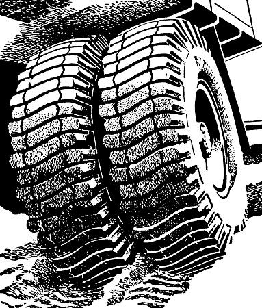 Double Truck Tires
