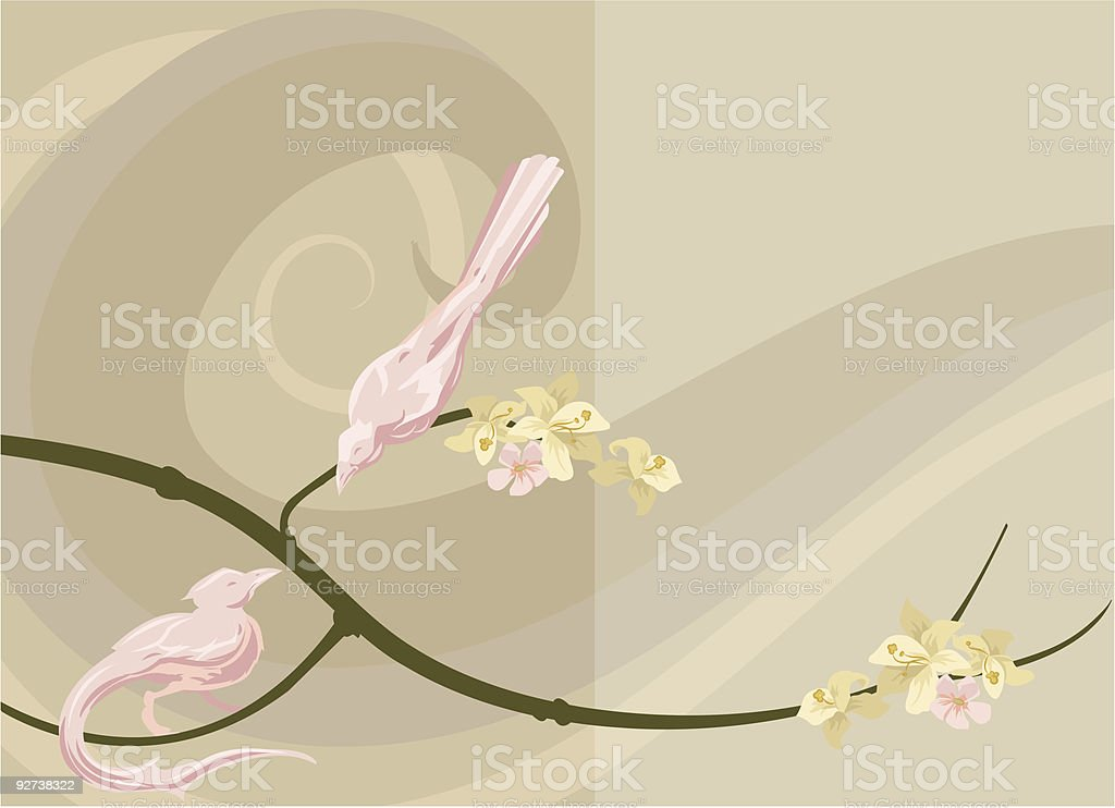 Dove background royalty-free stock vector art