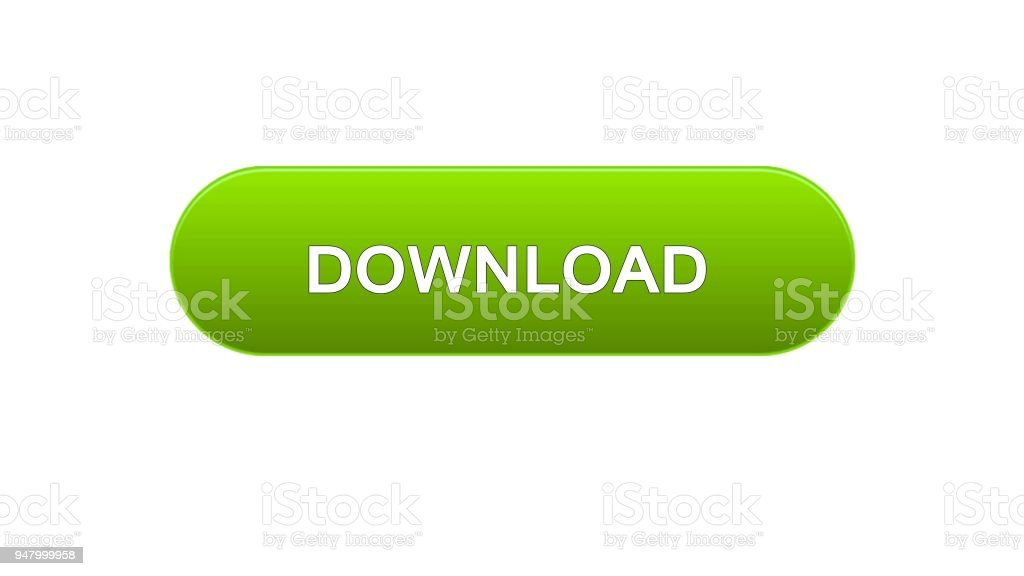 Download Web Interface Button Green Color Internet Site Design Online Service Royalty Free