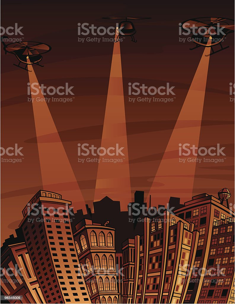 Downtown Police Search royalty-free downtown police search stock vector art & more images of architecture