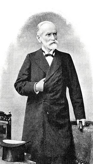 Dr. Johannes Versmann, mayor of Hamburg, portrait