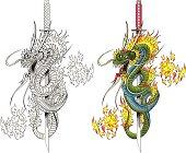 Dragon and Sword