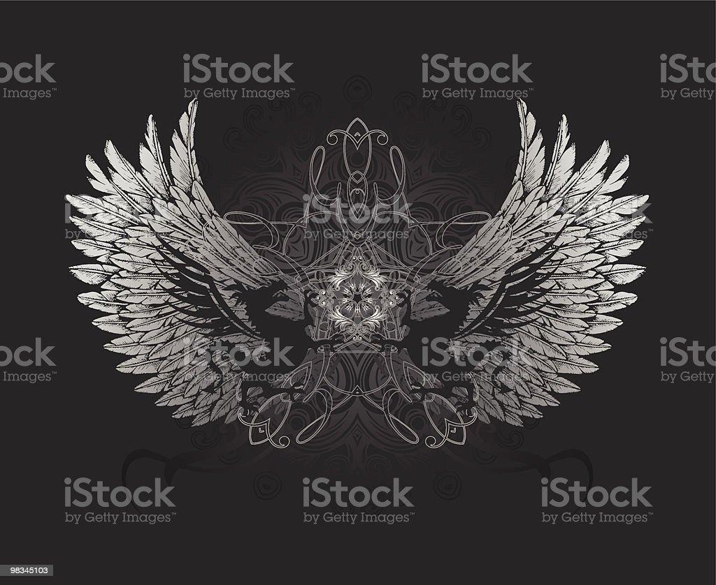 Dragon Crest royalty-free stock vector art