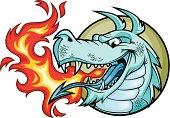 Dragon Fire Blue