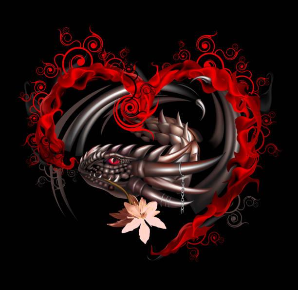 dragon - dragon eye stock illustrations, clip art, cartoons, & icons