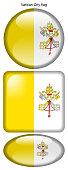 Drapeau de la Cité du Vatican, Vatican City flag