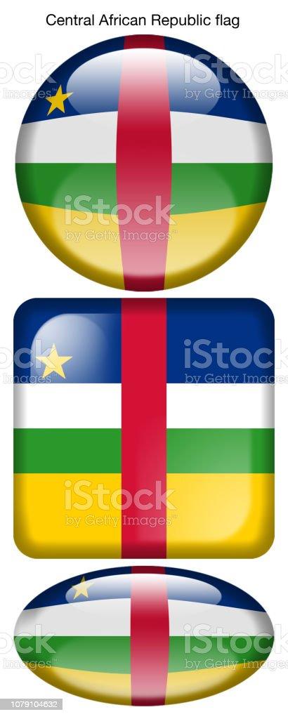 Drapeau de la République centrafricaine, drapeau de la République centrafricaine drapeau de la république centrafricaine drapeau de la république centrafricaine vecteurs libres de droits et plus d'images vectorielles de badge libre de droits