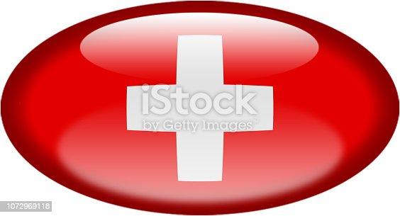 istock Drapeau de la Suisse, Switzerland flag 1072969118