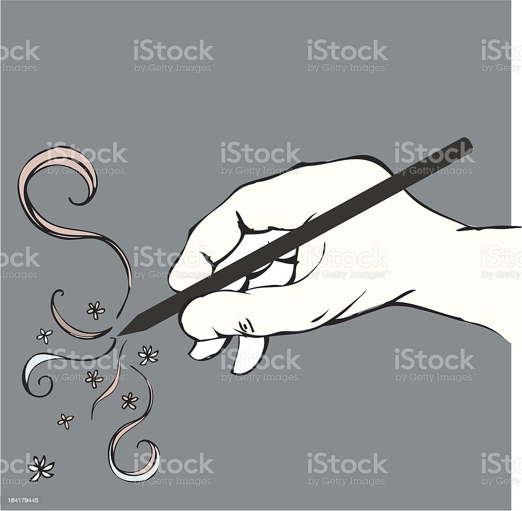 Drawing royalty-free stock vector art