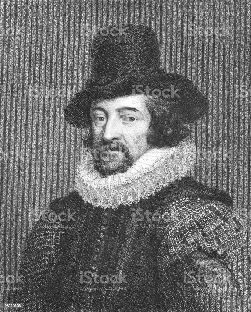 Drawn portrait of Francis Bacon in formal attire royalty-free drawn portrait of francis bacon in formal attire stock vector art & more images of adult
