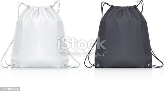 istock Drawstring backpack 167590690