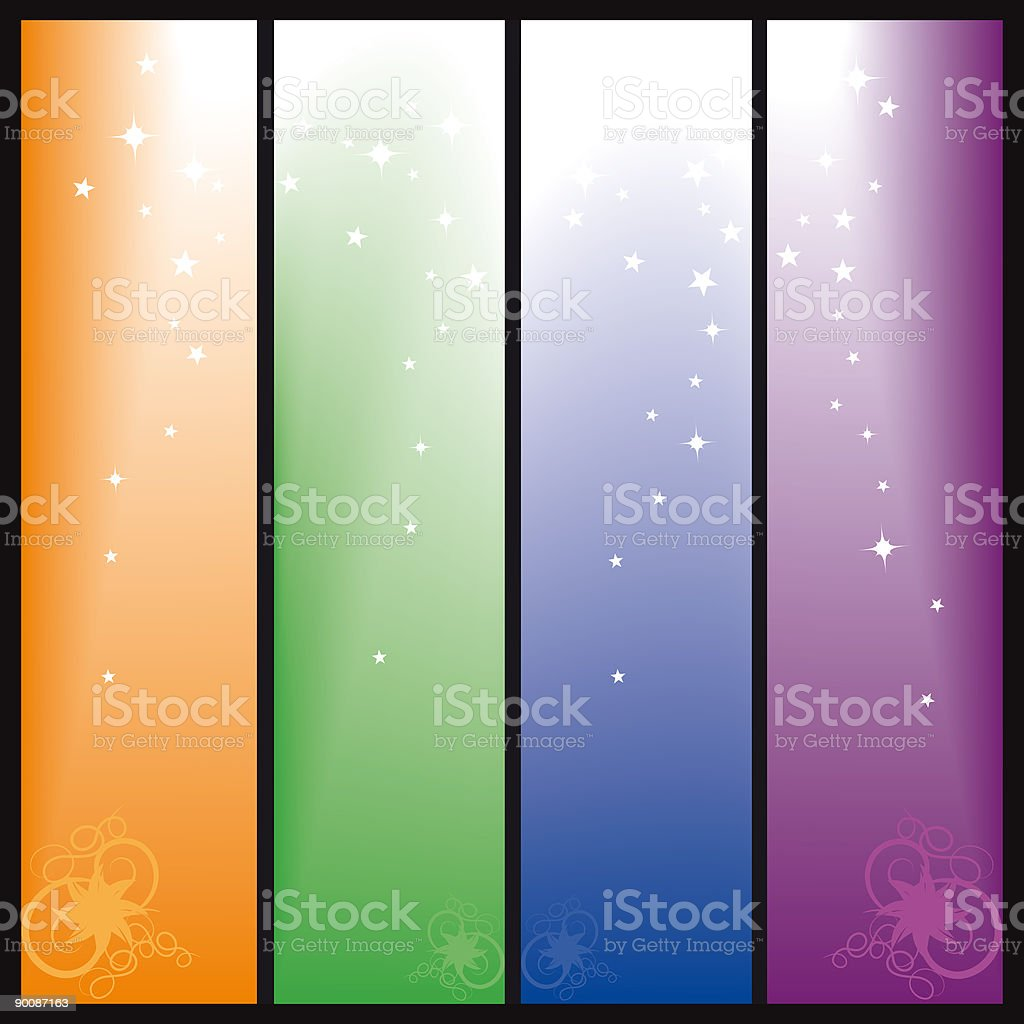 dreamy background royalty-free stock vector art