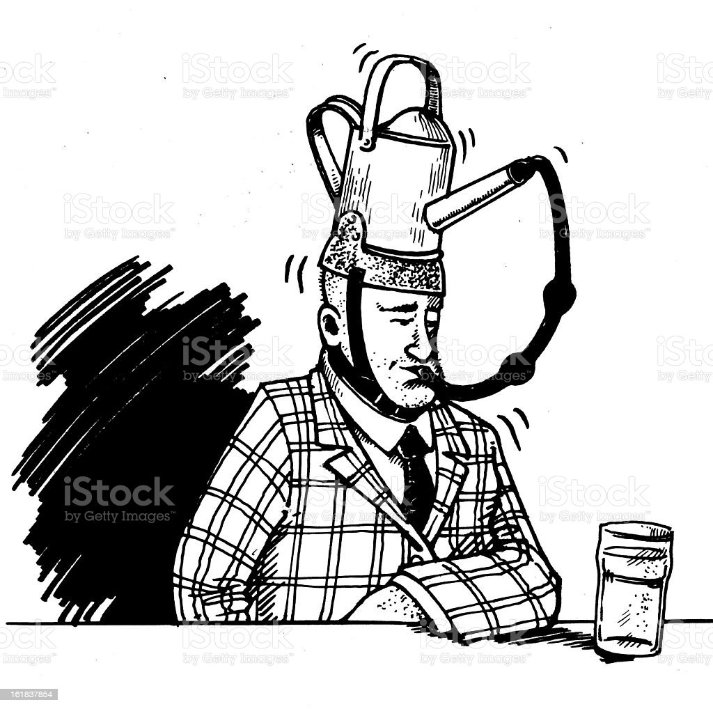 Drinkers Hat royalty-free drinkers hat stock vector art & more images of adult