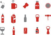 Drinking Icon Set