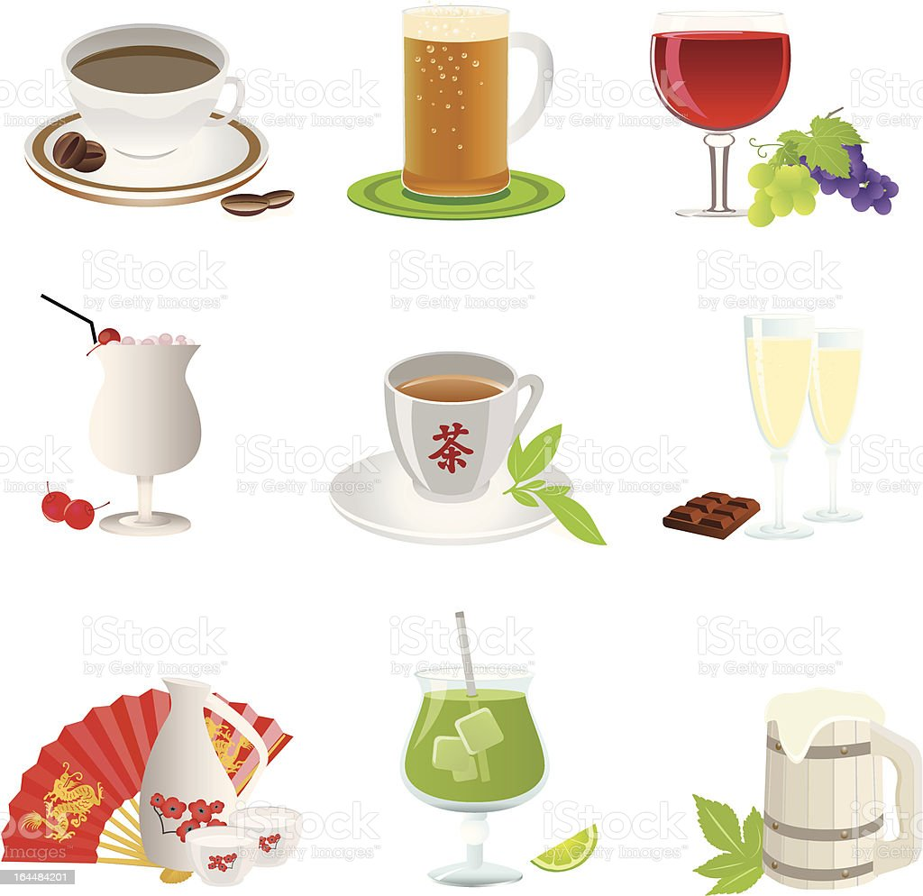 Drinks icon royalty-free drinks icon stock vector art & more images of alcohol