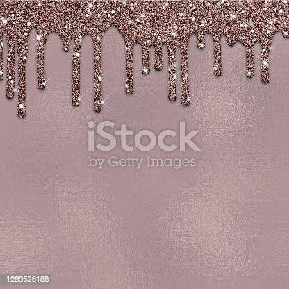 istock Dripping glitter paint-30 1283525188