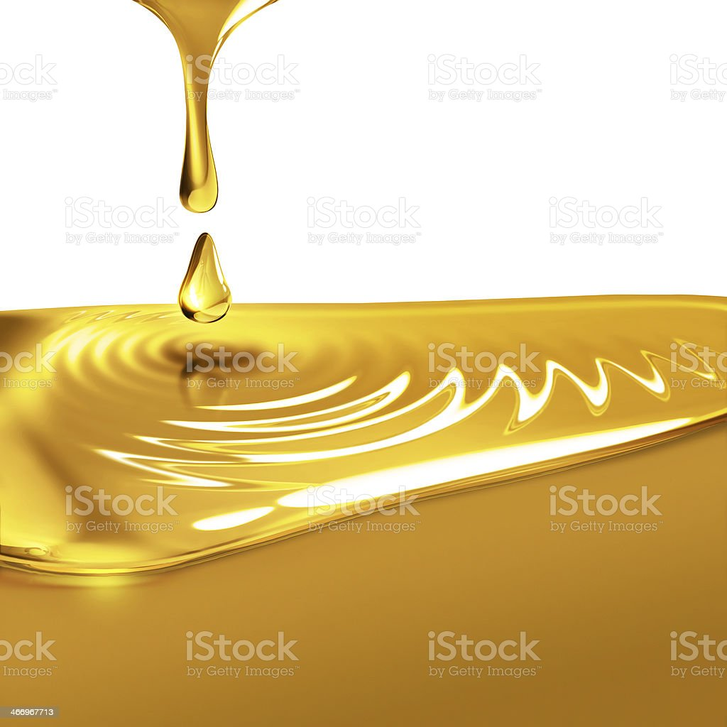 dripping oil vector art illustration