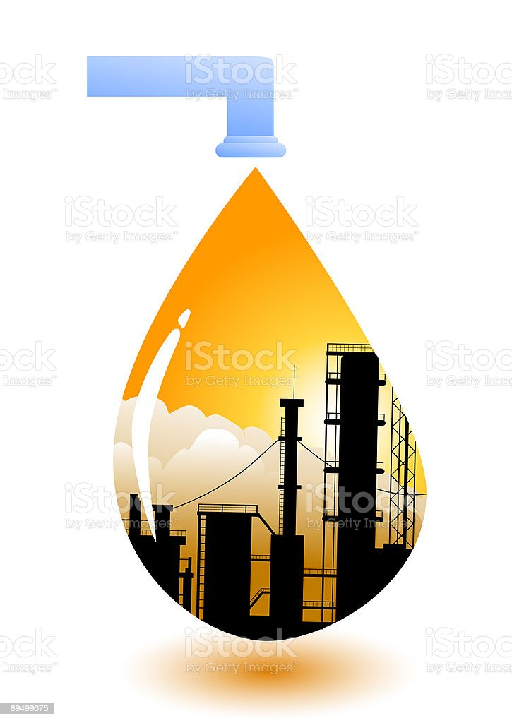 Drop of polluted water royaltyfri drop of polluted water-vektorgrafik och fler bilder på bildbakgrund