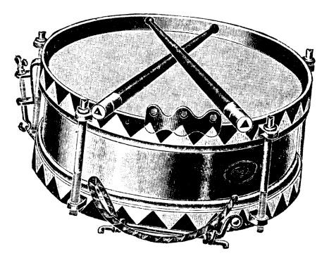Drum   Antique Musical Illustrations