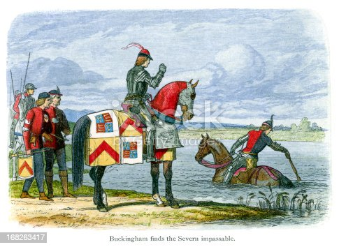 istock Duke of Buckingham finds the River Severn Impassable 168263417