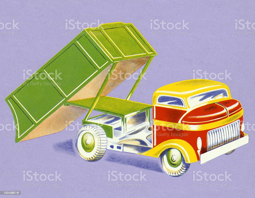 Dump Truck royalty-free dump truck stock vector art & more images of color image