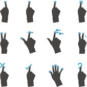 Duotone Icons - More Touchpad Gestures