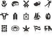 Dutch Culture icons