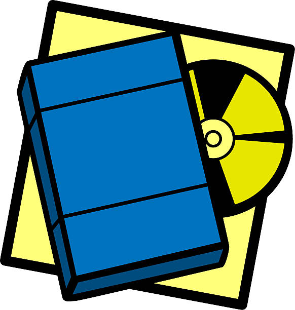 Royalty Free Dvd Rental Clip Art, Vector Images ...