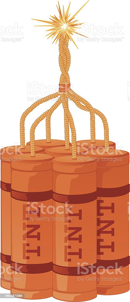 Dynamite royalty-free dynamite stock vector art & more images of bomb