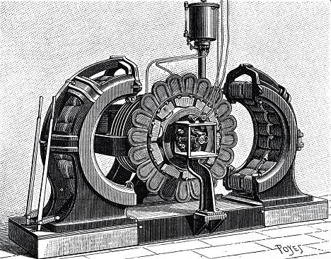 Dynamo machine by Sebastian Ziani de Ferranti