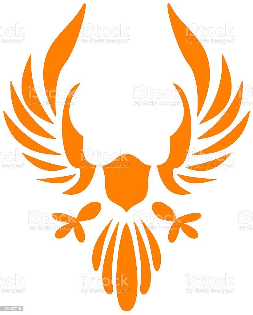 Eagle 03 royalty-free stock vector art