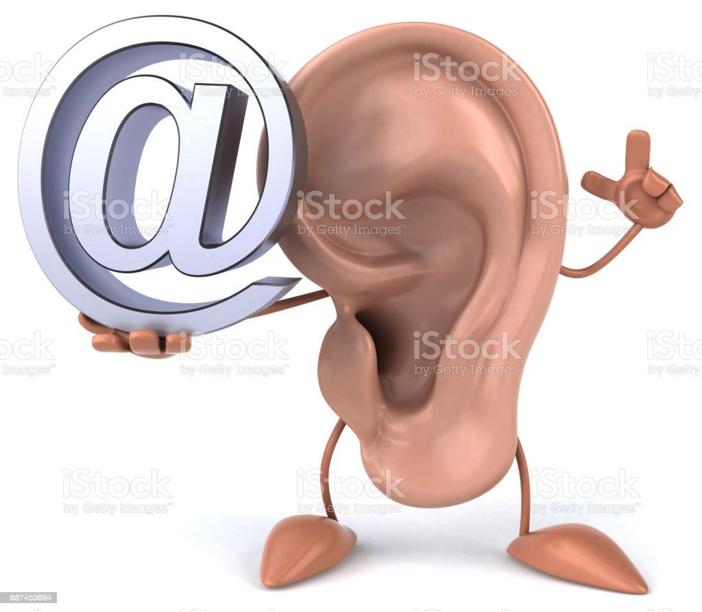 Ilustración de Oído y más banco de imágenes de Anatomía 687453694 ...