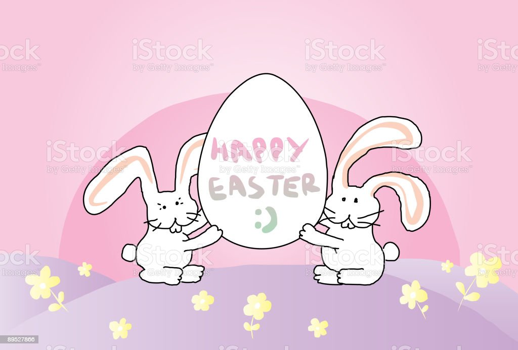 Easter Bunnies royalty-free easter bunnies stock vector art & more images of animal egg